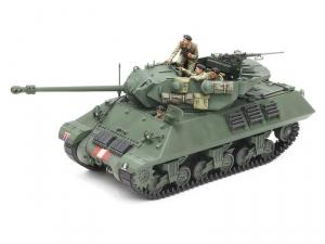 British Tank Destroyer M10 IIC Achilles model Tamiya in 1-35