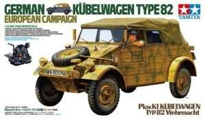 German Kubelwagen Type 82 European Campaign