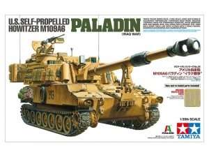 US SPH M109A6 Paladin Iraq War - model in scale 1-35