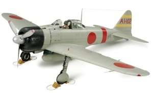 Mitsubishi A6M2b Zero Fighter Model 21 in scale 1-32 Tamiya 60317