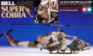 Bell AH-1W Super Cobra model Tamiya 60708 in 1-72