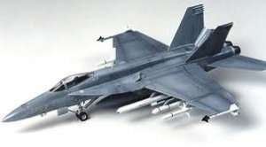 F/A-18E Super Hornet model in scale 1-72
