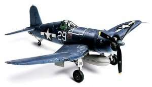 Vought F4U-1A Corsair model in scale 1-72