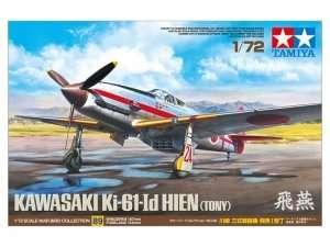 Kawasaki Ki-61-Id Hien Tony in scale 1-72