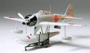 Nakajima A6M2N Type 2 (Rufe) model in scale 1-48