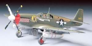 North American P-51B Mustang in scale 1-48