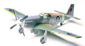 North American Raf Mustang III in scale 1-48 Tamiya 61047