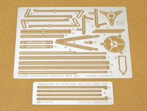 Fairey Swordfish Floatplane Photo Etched Bracing Wire Set