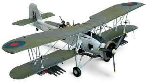 Fairey Swordfish Mk.II model in scale 1-48