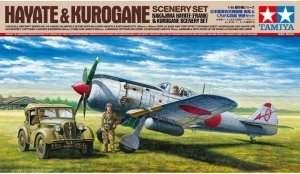 Nakajima Hayate and Kurogane Scenery Set in scale 1-48