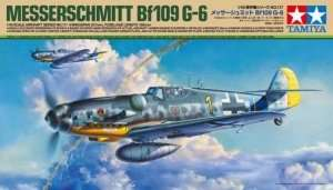 Messerschmitt Bf109 G-6 in scale 1-48
