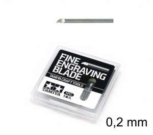 Fine Engraving Blade 0,2mm - Tamiya 74136
