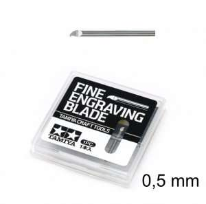 Fine Engraving Blade 0,5mm - Tamiya 74138