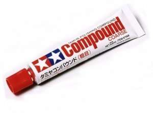 Polishing Compound Coarse Tamiya 87068