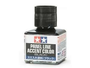 Panel Line Accent Color Black - Tamiya