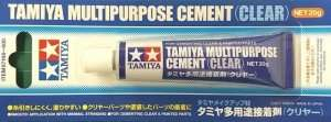 Tamiya Multipurpose Cement - Clear - 87188