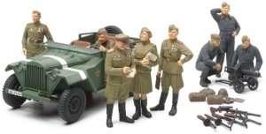 Tamiya 89767 Russian Field Car GAZ-67B w/Officers