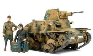 Italian Light Tank L6/40 in scale 1-35 Limited edition