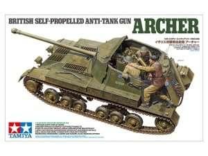 British self-propelled anti-tank gun Archer in scale 1-35