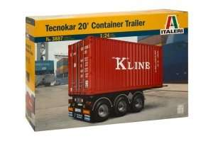 Container Trailer in scale 1-24 Ita3887