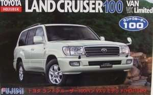 Toyota Land Cruiser 100 Van VX Limited in scale 1-24