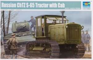 Russian ChTZ S-65 Tractor with cab Trumpeter 05539