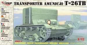 T-26TB Ammunition Carrier in scale 1-72 - Mirage Hobby 72607
