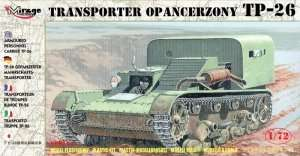 TP-26 Armoured Personnel Carrier in scale 1-72 - Mirage Hobby 72608