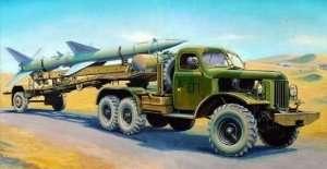 Trumpeter 00204 SA-2 Guideline Missile on Transport trailer