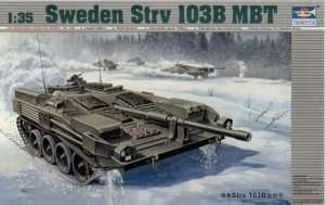 Swedish tank model STRV 103B Trumpeter 00309