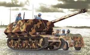German Panzerjager 39(H) 7,5cm Pak40/1 Marder I in scale 1-35