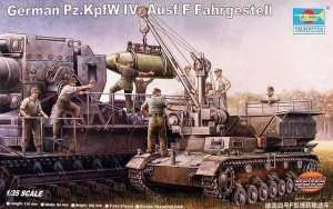 German Pz.Kpfw. IV Aust F Fahrgestell in scale 1-35