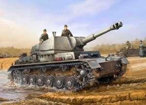 German Sd.Kfz.165/1 le FH 18/1 GW IV b in scale 1-35