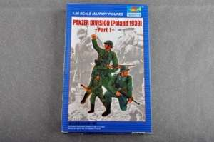 Panzer Divizion Poland 1939 model Trumpeter in 1-35