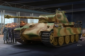 German Sd.Kfz.171 Panther Ausf.G Late Version model Trumpeter