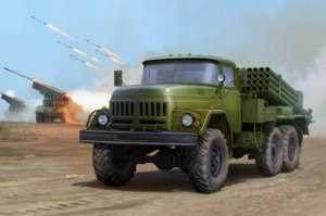 Russian 9P138 Grad-1 on Zil-131 in scale 1-35