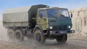 Russian KAMAZ-4310 Truck in scale 1-35