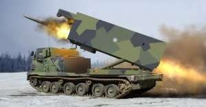 M270/A1 MLRS - Finland - Netherlands in scale 1-35