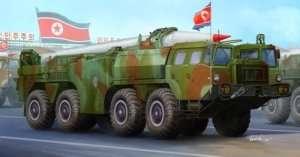 DPRK Hwasong -5 short-range tactical ballistic missile in scale 1-35
