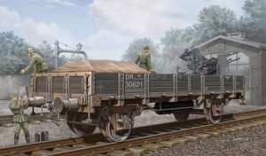 German Railway Gondola in scale 1-35
