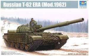 Soviet tank model T-62 mod. 1962 Trumpeter 01555