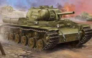 Trumpeter 01572 Soviet KV-8S Heavy Tank