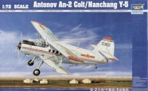 Antonow An-2 Colt - Nanchang Y-5 in scale 1-72