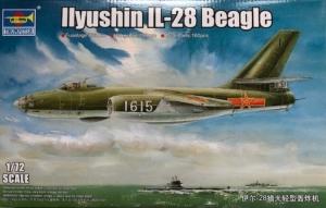 Ilyushin IL-28 Beagle model Trumpeter 01604 in 1-72