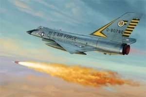 F-106A Delta Dart in scale 1-72