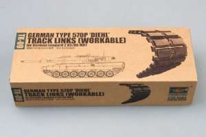 Trumpeter 02039 German type 570P DIE' for German Leopard 2 A5/A6 MBT