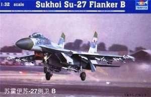 Soviet fighter Sukhoi Su-27 Flanker B 1:32