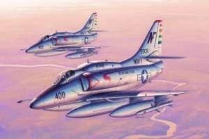 Model A-4F Sky Hawk in scale 1:32