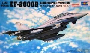 Model Eurofighter EF-2000B Typhoon scale 1:32