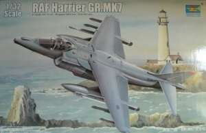 Model RAF Harrier Gr. MK.7 in scale 1:32